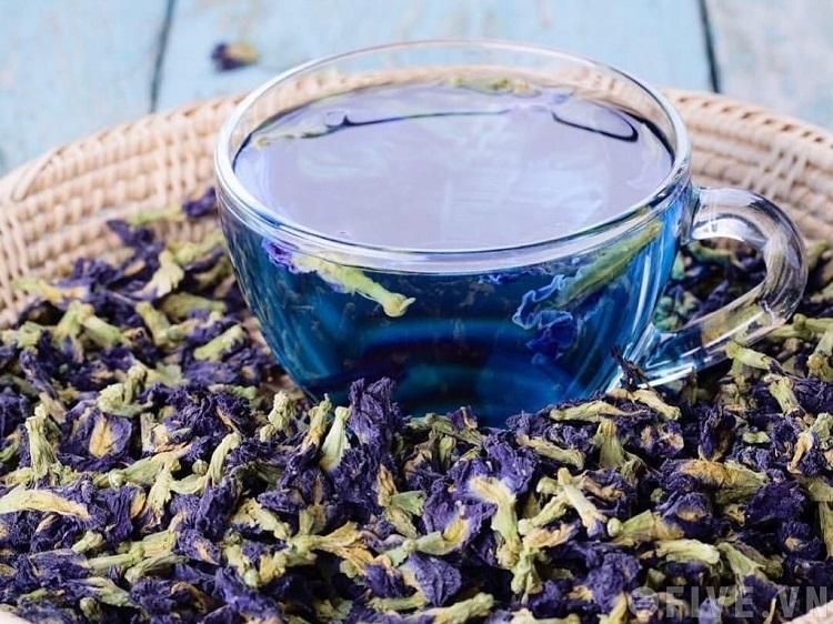 Làm đẹp từ trà hoa đậu biếc rất được phái nữ ưa chuộng